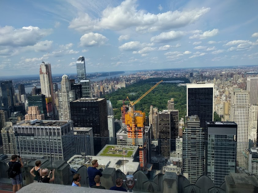 Top of The Rock - zicht op Central Park - NYC - Beste zicht op New York City