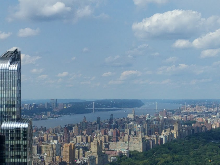 Hudson - George Washington Bridge - Central Park - NYC