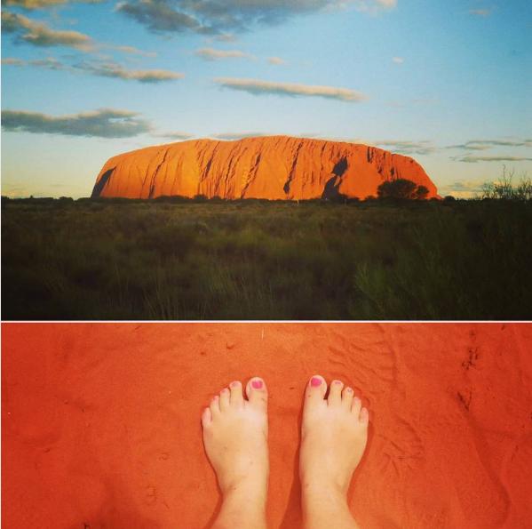 Heimwee naar Australië - Ayers Rock - Uluru
