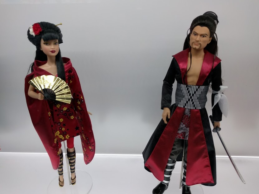 Japanese klederdracht Barbie