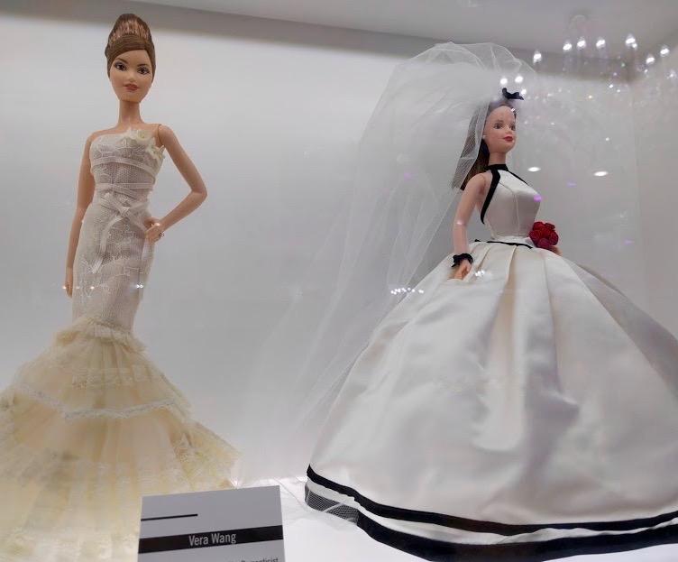 Vera Wang bruidsjurken Barbie