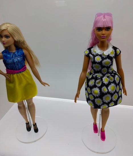 De jongste generatie Barbie's