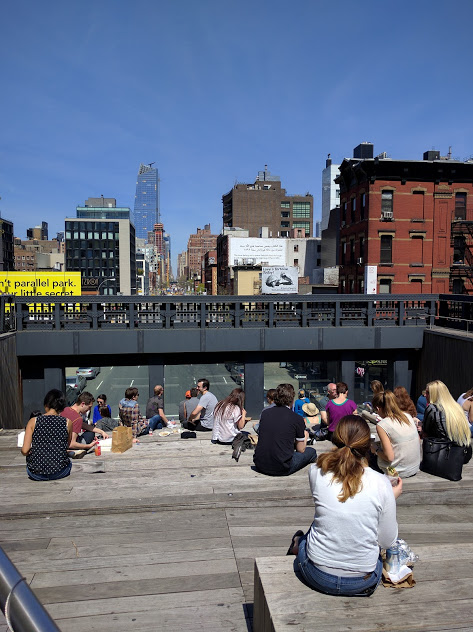 amfitheater high line new york