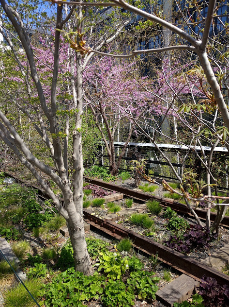 High Line spoorweg