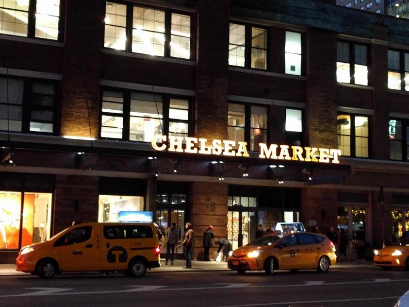 facade Chelsea Market