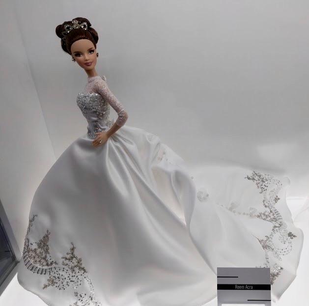 Barbie bruidsjurk Reem Acra