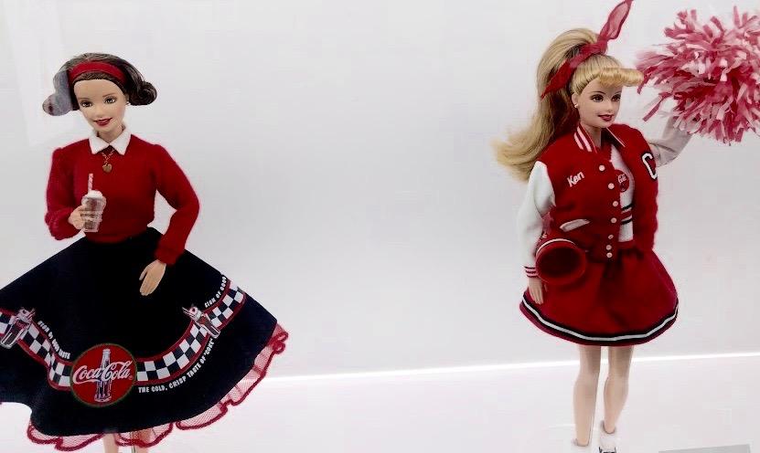 Coca Cola Barbie jaren '50