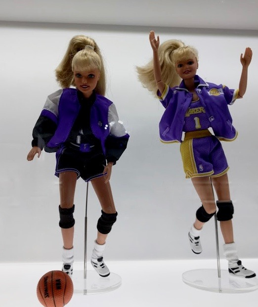 Basket spelende Barbie