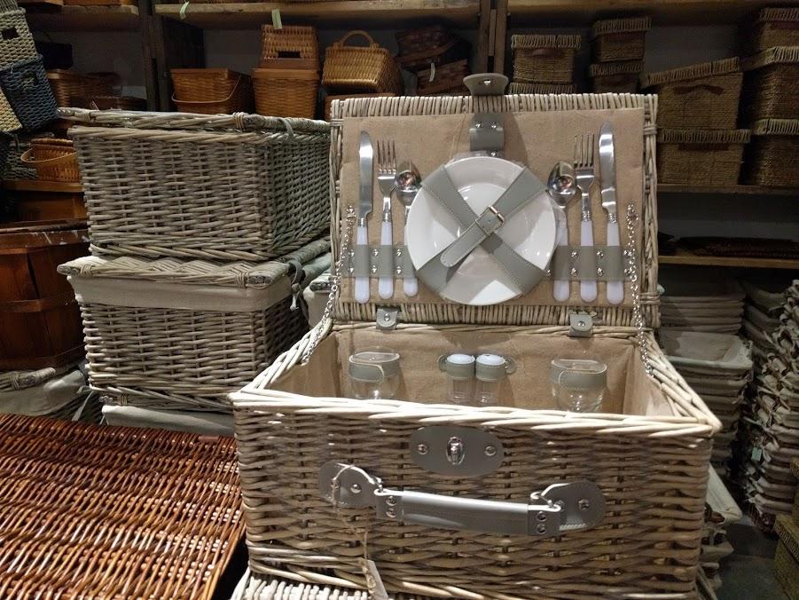 Klassieke picknickmand Chelsea Market Baskets