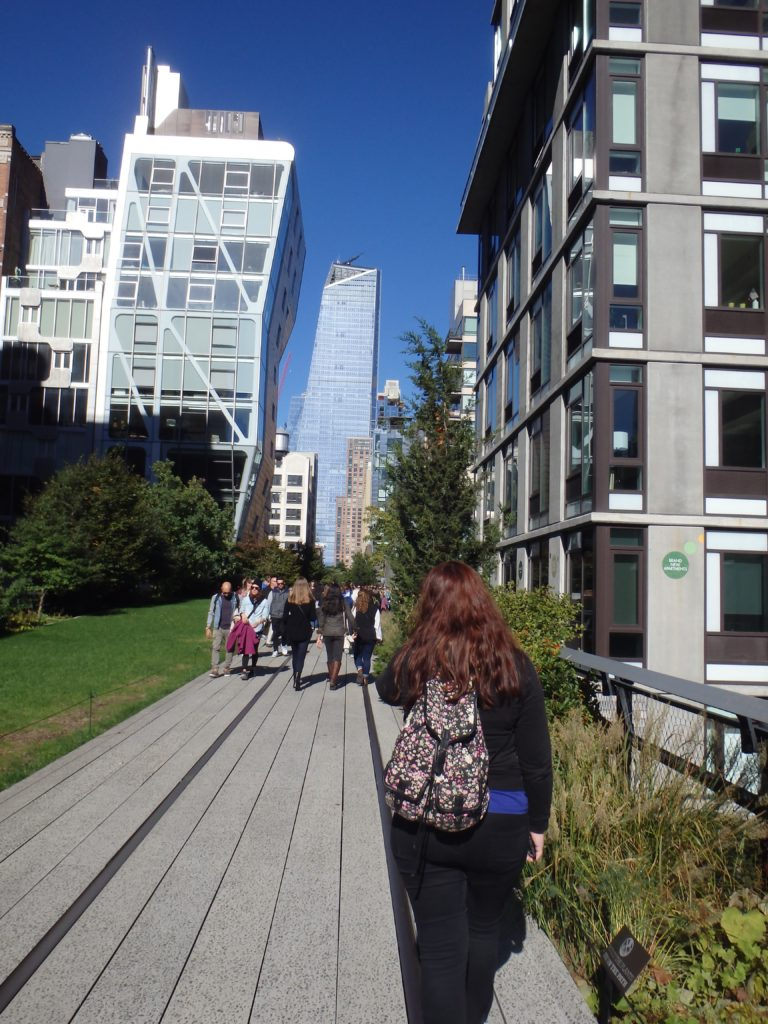 architectuur op de High Line