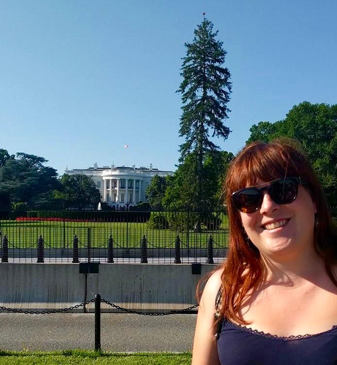 Davina, Latcho Drom voor het Witte Huis in Washington DC