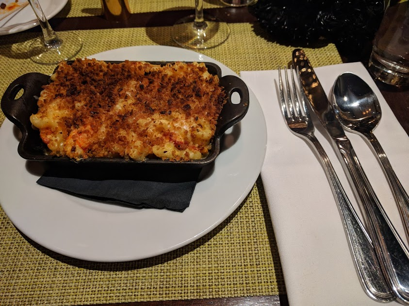 Baked Lobster Mac & Cheese Brooklyn Diner