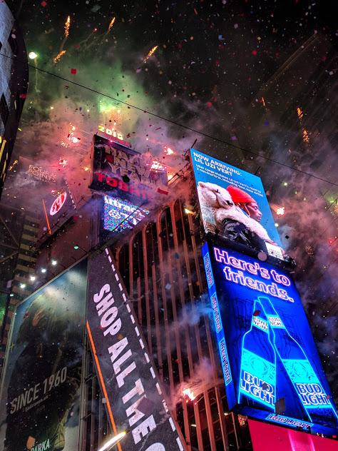 Times Square Oudejaarsavond