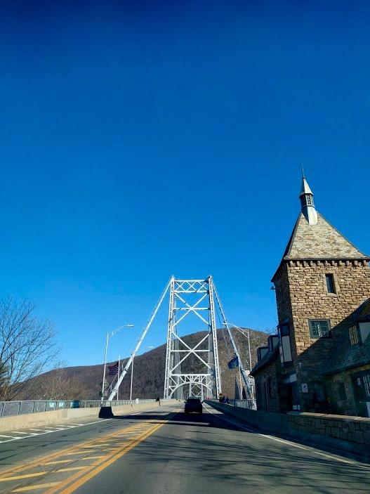 Tolbrug Bear Mountain Bridge, Upstate NY