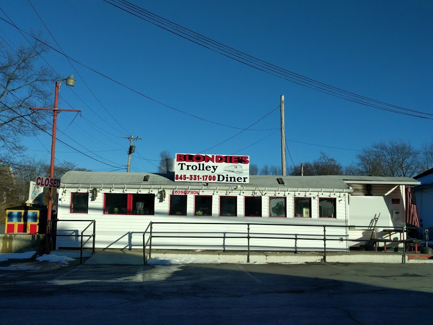 Trolley diner - upstate NY