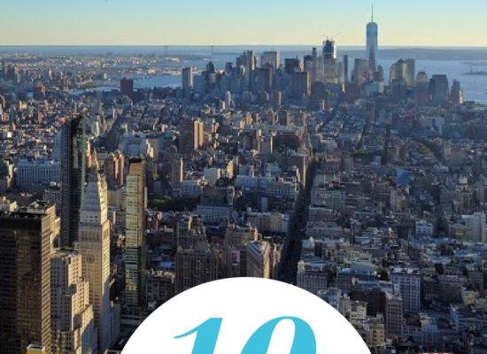 New York City, uitzicht vanuit de Empire State Building