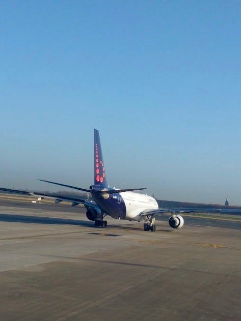 Vliegtuig Brussels Airlines