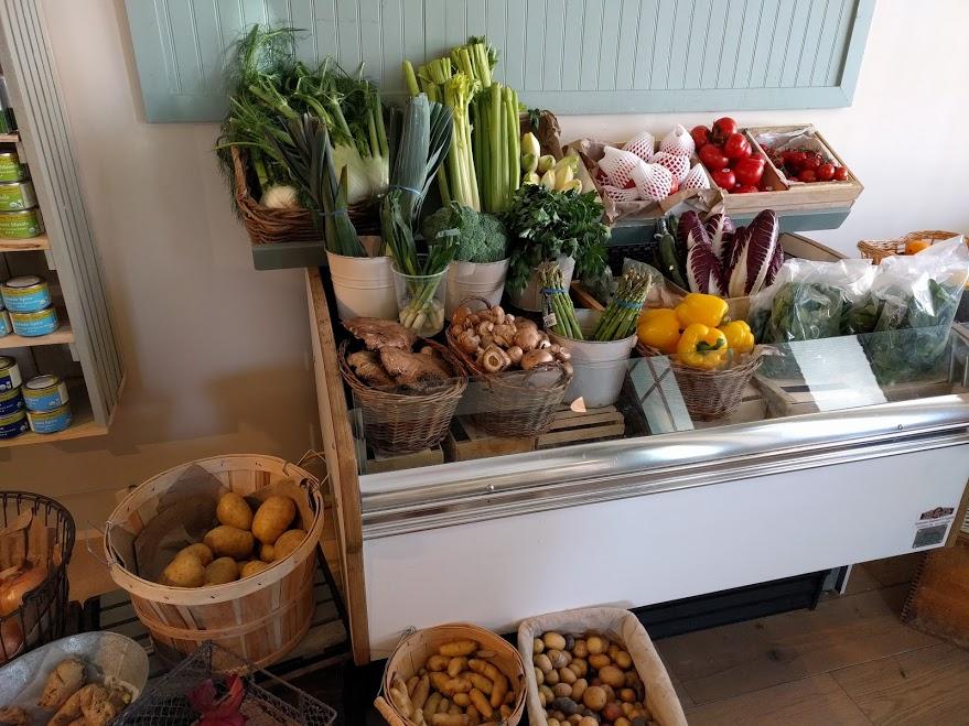 groenten in Olde Hudson Market