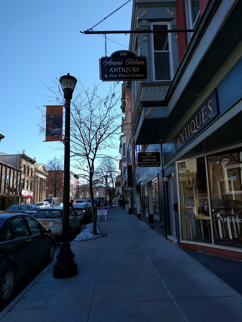 antiques winkel Hudson Upstate NY