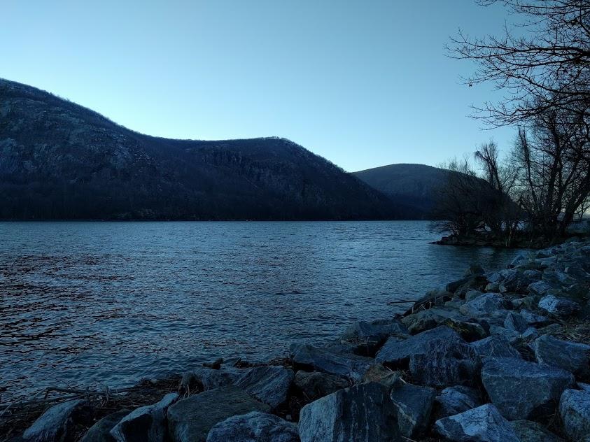 Cold Spring, zicht op de Hudson