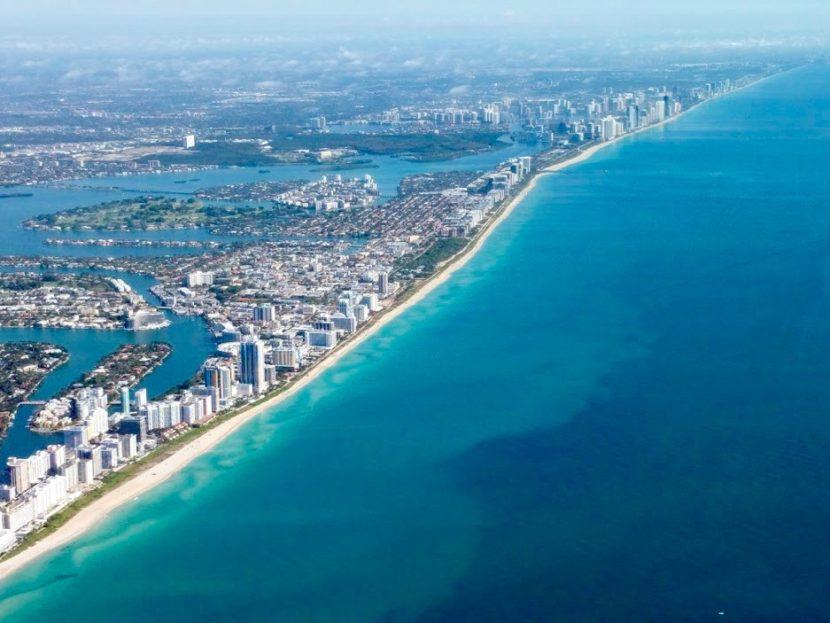 Luchtfoto South Beach Miami