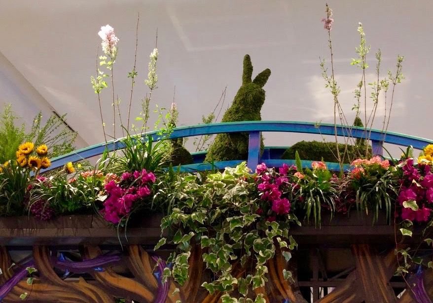 Macy's Flower Show New York konijn