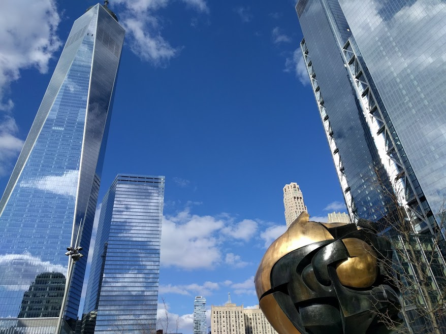 WTC in NYC - One Tower WTC1- WTC7- WTC3 - WTC4 - Sphere