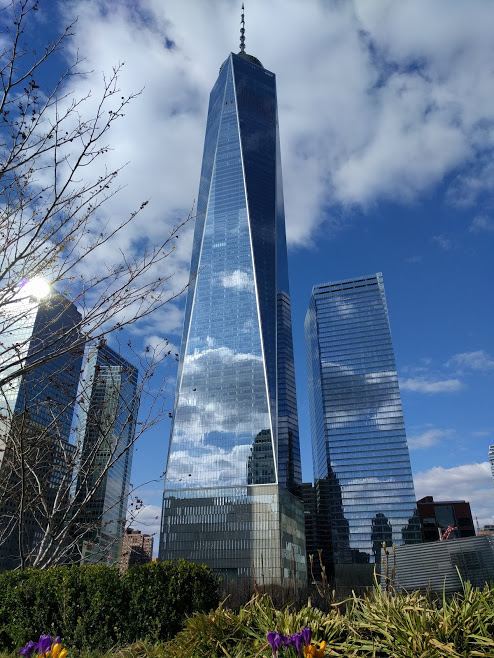 One Tower, gezien vanuit Liberty Park - NYC