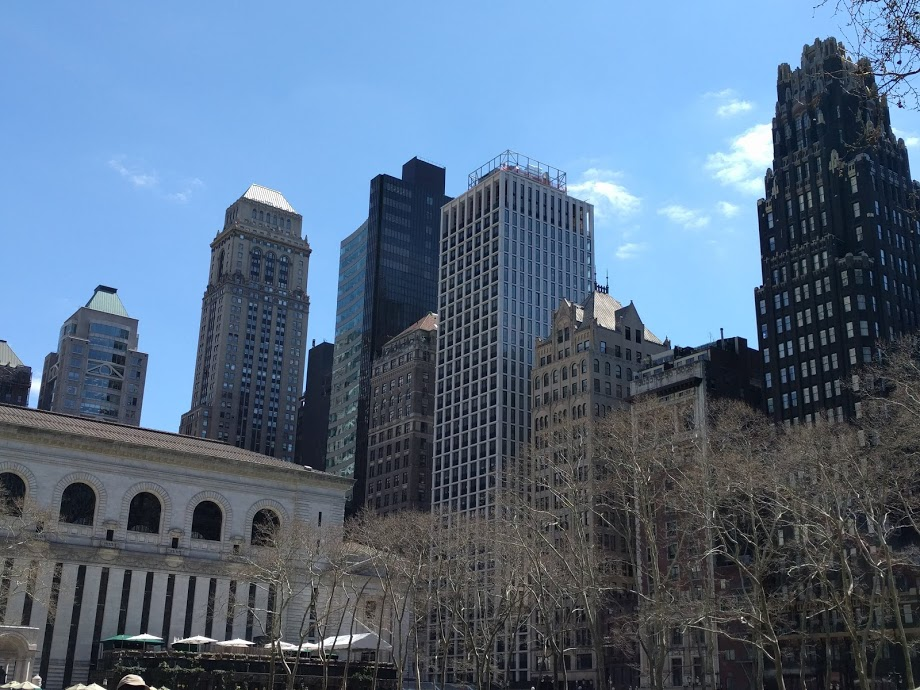 Bryant Park - Big Apple - NYC