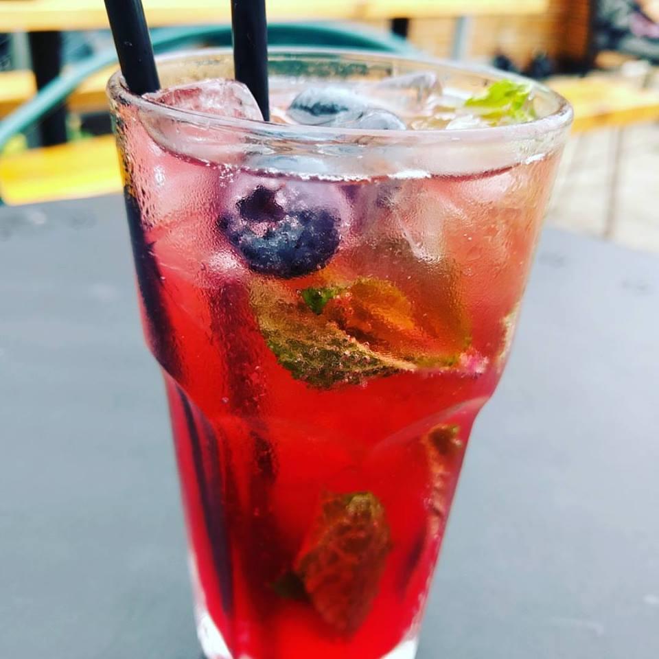 Despajito cocktail aan Marché des éclusiers