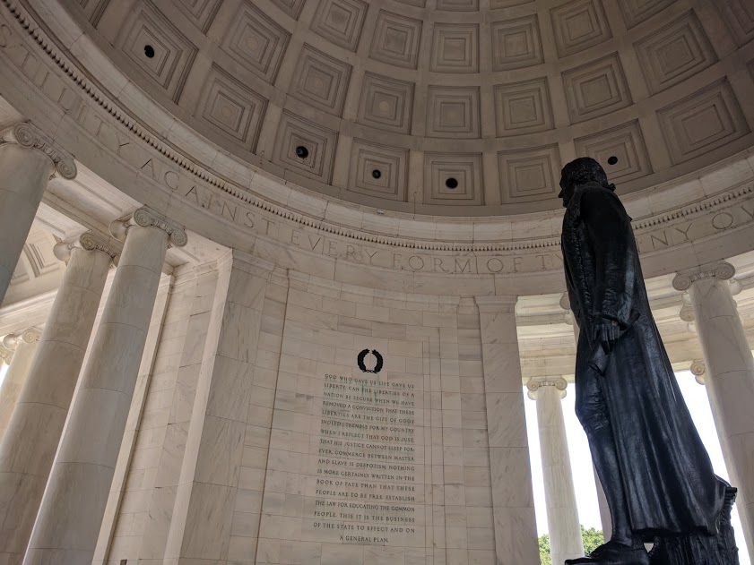 Beeld Thomas Jefferson - Jefferson Memorial - Washington D.C.