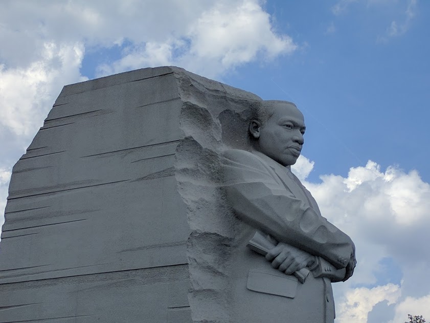 Dr. Martin Luther King Jr. beeld Washington D.C.