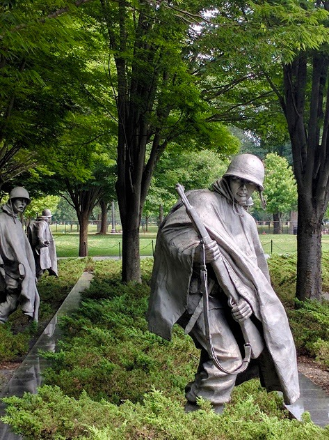 Korean War Veteran Memorial Washington D.C.