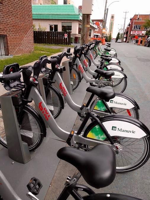 Bixi-fietsen Montréal