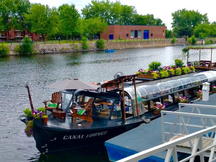 Canal Lounge - Canal du Lachine - Montréal
