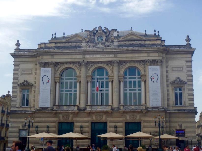 Opera, Place de la Comédie, Montpellier