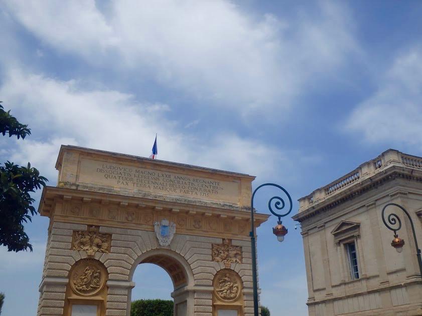 Porte du Pêyrou, Montpellier