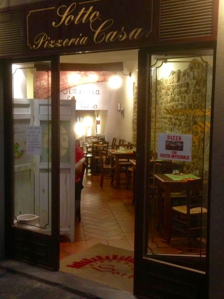 San Casciano: Pizzeria Sotto Casa