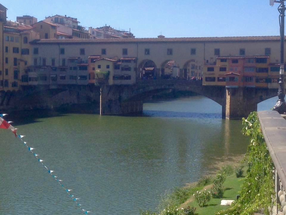 Ponte Vecchio in Firenze, Toscane