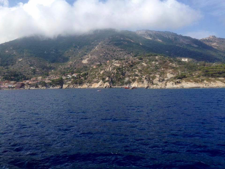 Monte Capane (1019 meter hoog), Elba