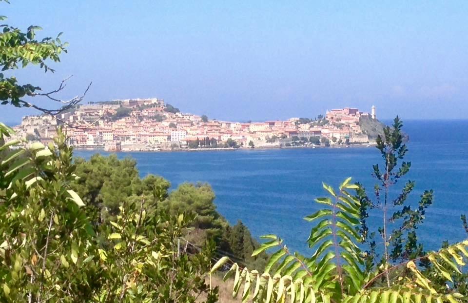 Uitloper van het eiland Elba