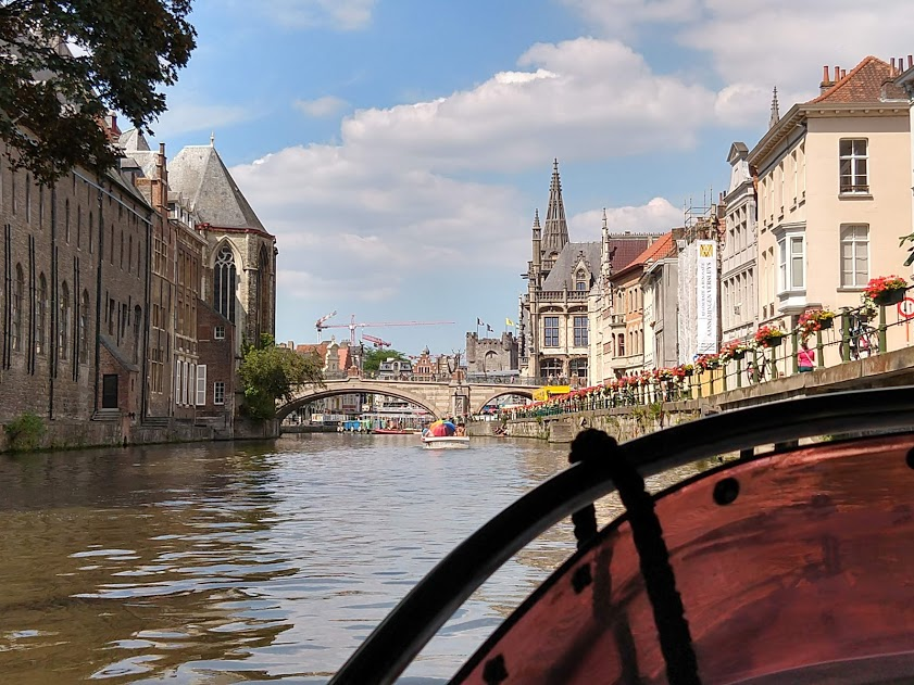 Leie Gent, Sint-Michielsbrug