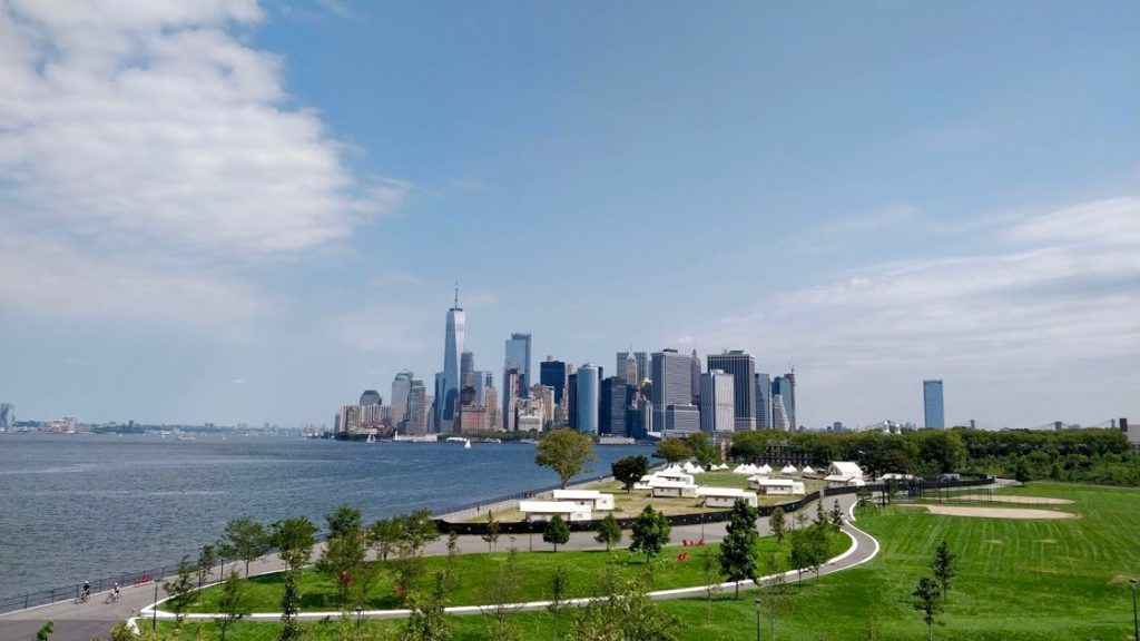 Governors Island, downtown NYC