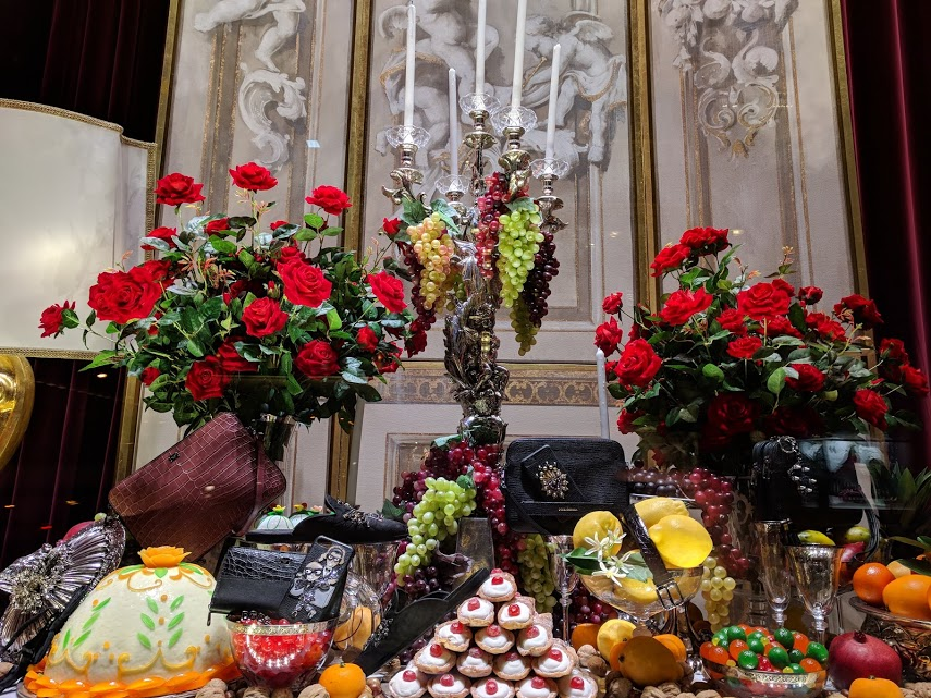 Kerst in NYC bij Dolce en Gabbana