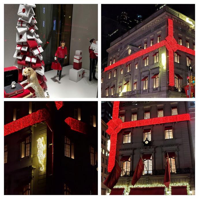 Cartier, Kerst in New York City