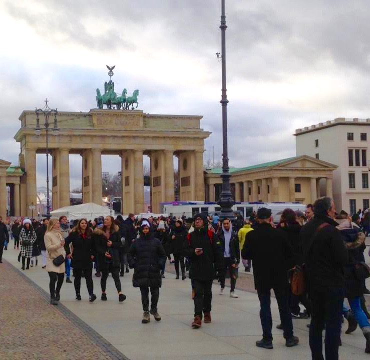Branderburger Tor, Berlijn