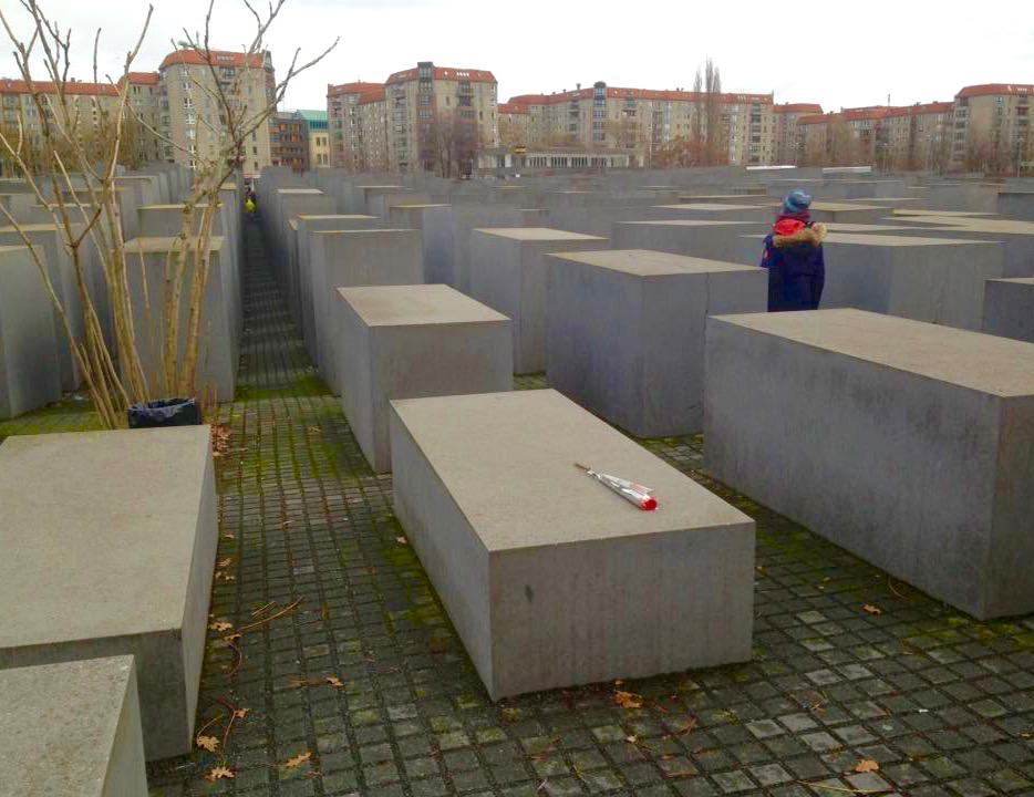 Holocaustmonument in Berlijn