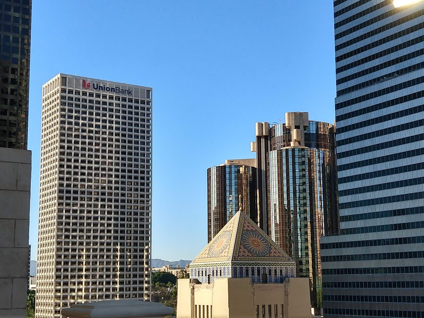 Los Angeles Central Library downtown LA
