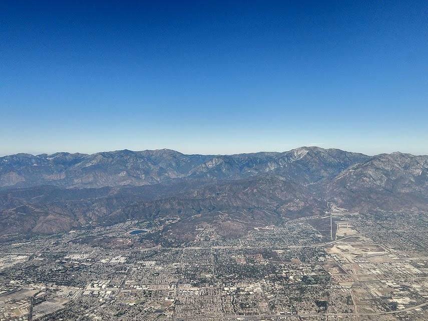 LA vanuit de lucht