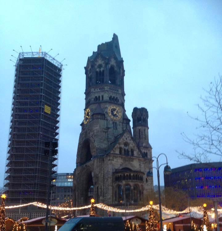 Kaiser-Wilhelm-Gedächtnis-Kirche in Berlijn